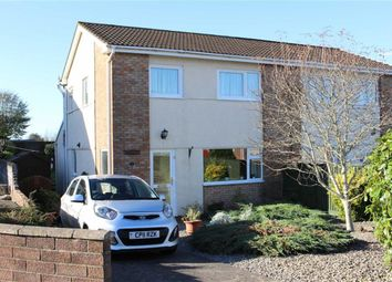 Thumbnail 3 bed semi-detached house for sale in Clos Trafle, Gowerton, Swansea