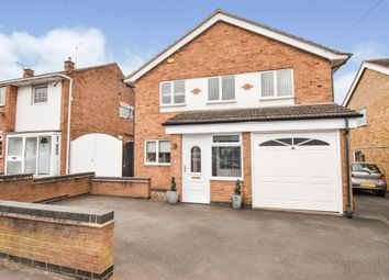 Thumbnail 3 bed detached house for sale in Horsewell Lane, Wigston