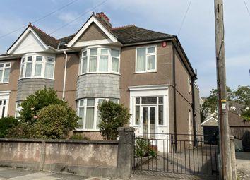 Beacon Down Avenue, Beacon Park, Plymouth, Devon PL2. 4 bed semi-detached house