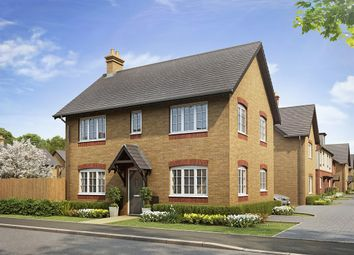 "Thumbnail 3 bed detached house for sale in ""The Clayton Corner "" at Bannold Road, Waterbeach, Cambridge"