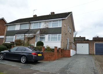 Thumbnail 4 bedroom semi-detached house for sale in Radcliffe Drive, Ipswich, Suffolk