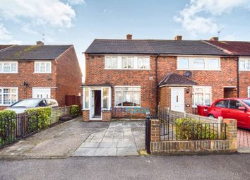 Thumbnail 2 bed end terrace house for sale in Trelawney Avenue, Langley, Slough
