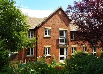 Thumbnail 1 bed flat for sale in Mellor Lodge, Uttoxeter, Staffordshire