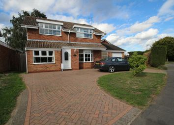 Thumbnail 4 bed detached house for sale in Moat Farm Drive, Rugby