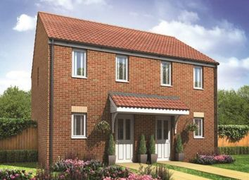 Thumbnail 2 bed semi-detached house for sale in Plot 88 Morden, Hampton Gardens, Hampton, Peterborough