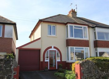 Thumbnail 3 bedroom semi-detached house for sale in Seymour Road, Newton Abbot