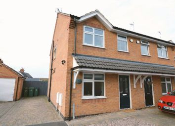 Thumbnail 2 bed end terrace house for sale in Old School Close, Glen Parva, Leicester
