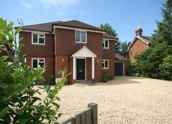 Thumbnail 4 bed detached house for sale in Main Road, Bucks Horn Oak, Farnham