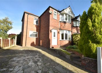 Thumbnail 3 bed semi-detached house for sale in Hilltop Grove, Whitefield, Manchester