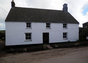 Thumbnail 4 bedroom detached house to rent in Tregadgwith, St Buryan, Penzance