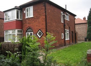 Thumbnail 4 bed semi-detached house to rent in Wensley Drive, Didsbury, Manchester