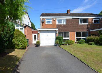 Thumbnail 3 bed semi-detached house for sale in Ten Ashes Lane, Cofton Hackett, Birmingham