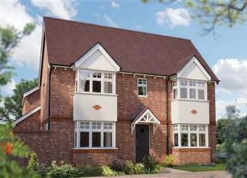 Thumbnail 3 bed detached house for sale in Crewe Road, Haslington, Crewe