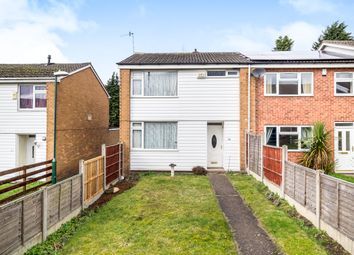Thumbnail 3 bedroom end terrace house for sale in Deptford Crescent, Bulwell, Nottingham
