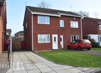 Thumbnail 2 bed semi-detached house for sale in Wymundsley, Chorley