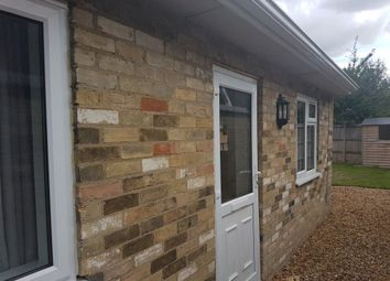 Thumbnail 2 bedroom bungalow to rent in Station Road, Impington, Cambridge