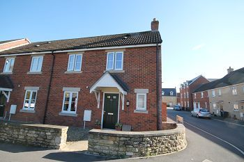 Thumbnail 2 bed end terrace house to rent in Church Street, Southwick, Wiltshire
