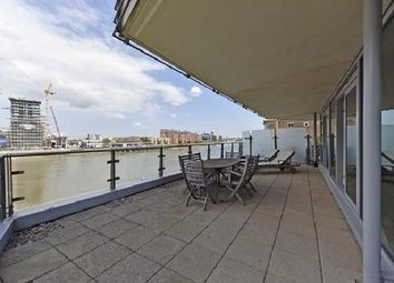Thumbnail 3 bed flat to rent in Ensign House, Juniper Drive, Battersea Reach, Wandsworth