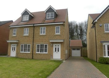 Thumbnail 3 bed town house for sale in Jackson Close, Seaton Delaval, Whitley Bay