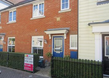 Thumbnail 3 bed terraced house for sale in Weetmans Drive, Colchester