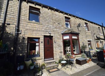 Thumbnail 3 bed end terrace house for sale in Garfield Place, Marsden, Huddersfield