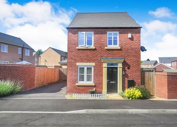 Thumbnail 3 bed detached house for sale in Thompson Way, Rothwell, Kettering