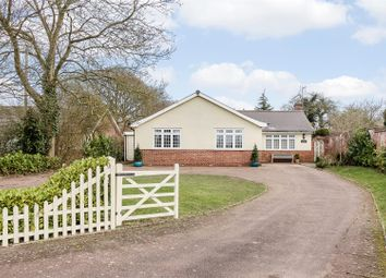 Thumbnail 4 bed detached bungalow for sale in Lower Road, Mountnessing, Brentwood