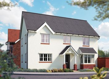 "Thumbnail 4 bed detached house for sale in ""The Hanbury"" at Weights Lane Business Park, Weights Lane, Redditch"