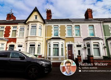 Thumbnail 2 bed terraced house for sale in Pomeroy Street, Cardiff
