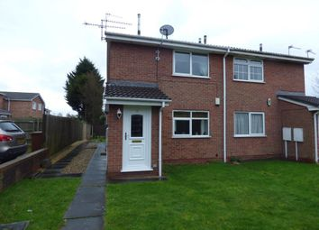 Thumbnail 1 bed flat to rent in Westminster Drive, Stretton, Burton-On-Trent