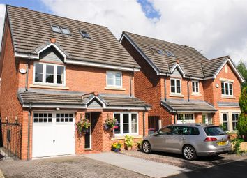 Thumbnail 4 bedroom detached house for sale in Greenwood Place, Eccles, Manchester