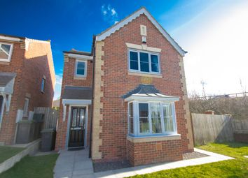 Thumbnail 3 bed detached house for sale in Temple Forge Mews, Consett