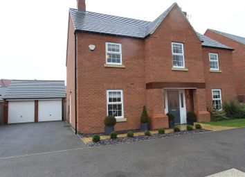 Thumbnail 4 bed detached house for sale in Barnards Way, Kibworth Harcourt, Leicester
