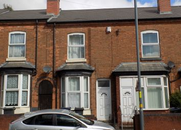 Thumbnail 3 bed terraced house for sale in Wellington Road, Handsworth