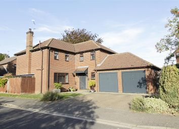 Thumbnail 4 bed detached house for sale in Aveland Way, Baston, Peterborough