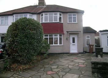 Thumbnail 3 bed semi-detached house for sale in Hazelmere Gardens, Worcester Park