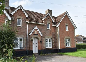 Thumbnail 2 bed cottage to rent in Clacton Road, Thorrington, Colchester