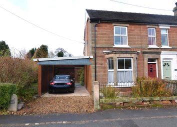 Thumbnail 3 bed semi-detached house for sale in The Ferns, Wharf Road, Gnosall