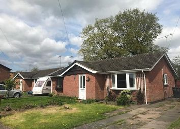 Thumbnail 1 bedroom bungalow to rent in Bosworth Close, Hinckley