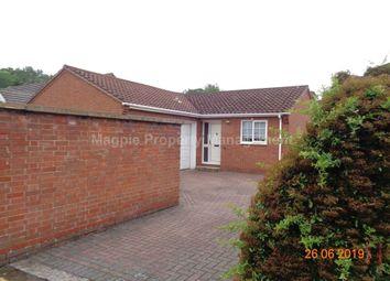 Thumbnail 2 bedroom bungalow to rent in Berkley Court, Eynesbury, St. Neots