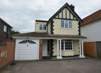 Thumbnail 3 bed detached house for sale in Cromer Road, Hellesdon, Norwich, Norfolk
