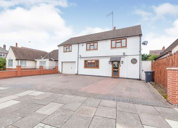 Thumbnail 5 bed detached house for sale in Roundhill Road, Leicester