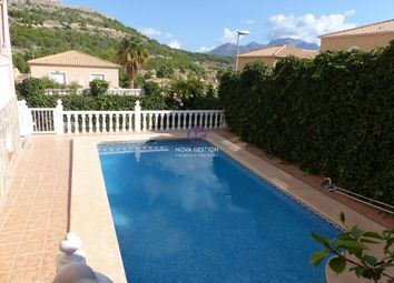Thumbnail 4 bed chalet for sale in Carrer Serra Del Montgó, 47, 03530 La Nucia, Alicante, Spain