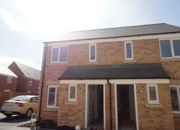 Thumbnail 2 bedroom semi-detached house to rent in Cornmill Close, Farcet, Peterborough