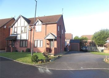 Thumbnail 3 bed semi-detached house for sale in Century Court, Edlington, Doncaster