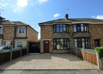 Thumbnail 2 bed semi-detached house for sale in Myrtle Avenue, Birstall, Leicester, Leicestershire
