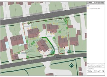 Thumbnail Property for sale in Development Plot At Back Lane, Nomans Heath, Malpas