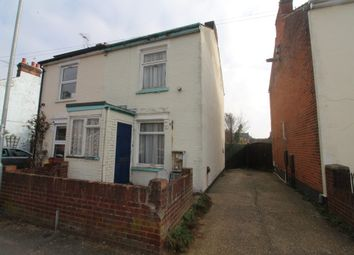 Thumbnail 2 bedroom semi-detached house for sale in Orwell Road, Ipswich