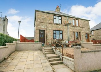 Thumbnail 3 bed semi-detached house for sale in Castle Park Road, Huntly, Aberdeenshire