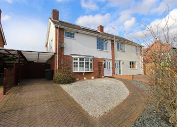Thumbnail 3 bed semi-detached house for sale in Park View, Great Stukeley, Huntingdon